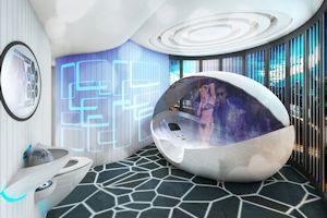 de gepersonaliseerde badkamer 60 van de ondervraagden vindt dat de badkamer in de toekomst moet voldoen aan de wensen van lle gebruikers