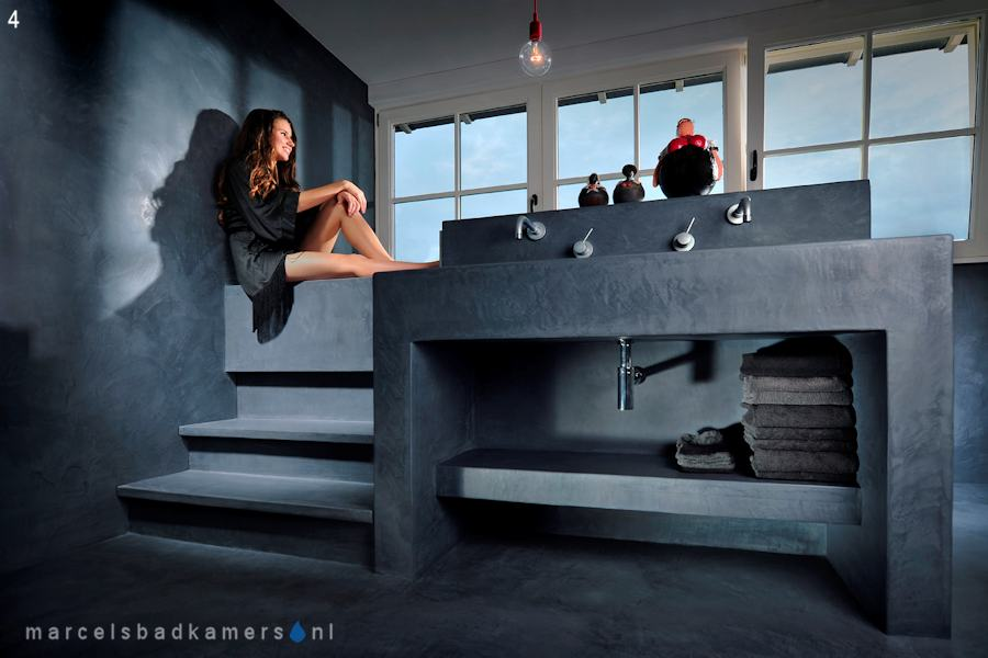 Tadelakt Badkamer Vloer : Marcels louws badkamers